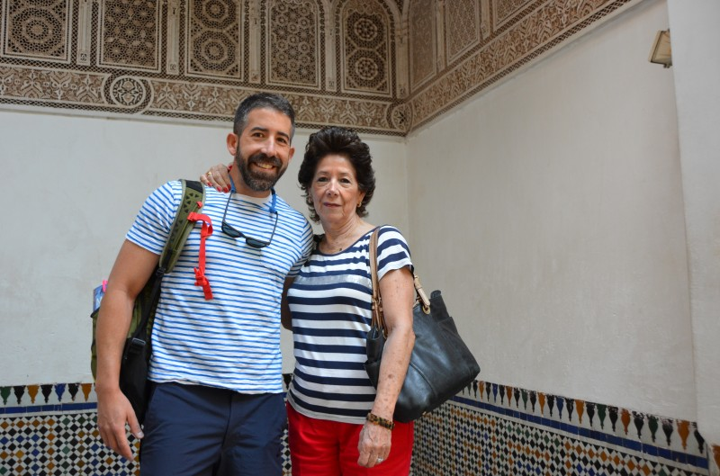 Morocco with my Mom
