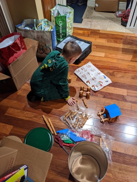 Loving new lincoln logs!