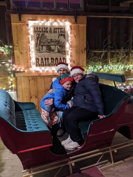 Santas sleigh!