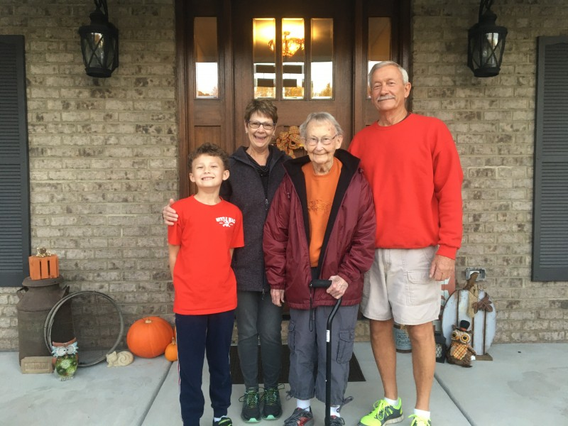 Grandma Grandpa and Great Grandma