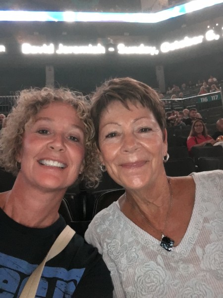 Mom and I at Queen concert
