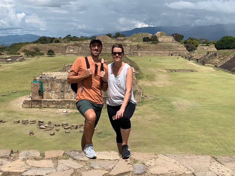 Breathtaking Ruins at Monte Alban in Oaxaca, Mexico!