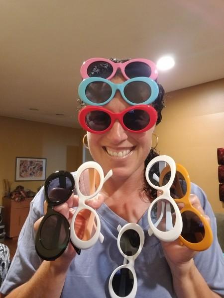The sunglasses I bought