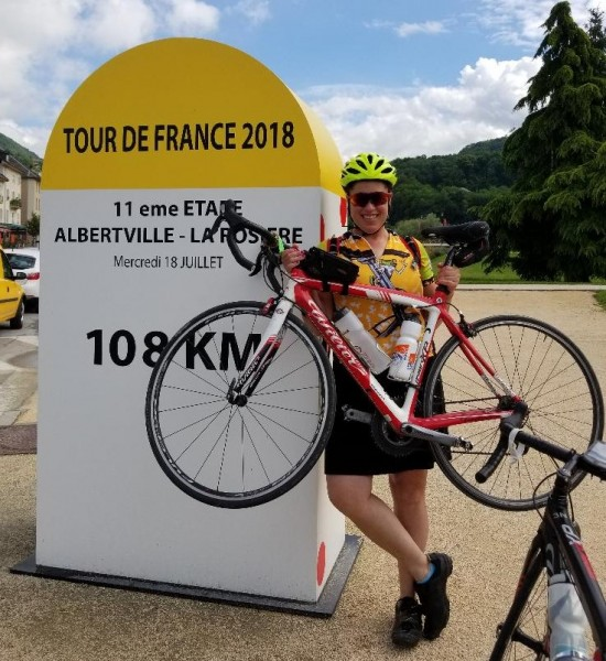 Cycling in France June 2018