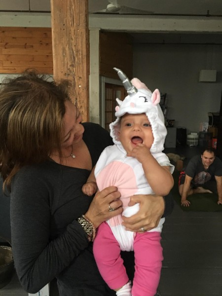First Halloween - She was a unicorn