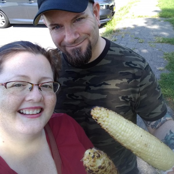 Community corn roast at our local park