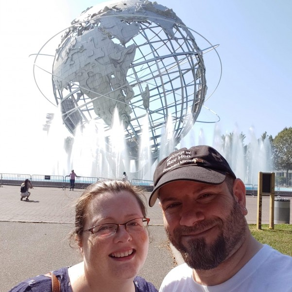 Unisphere from the Worlds Fair in Queens
