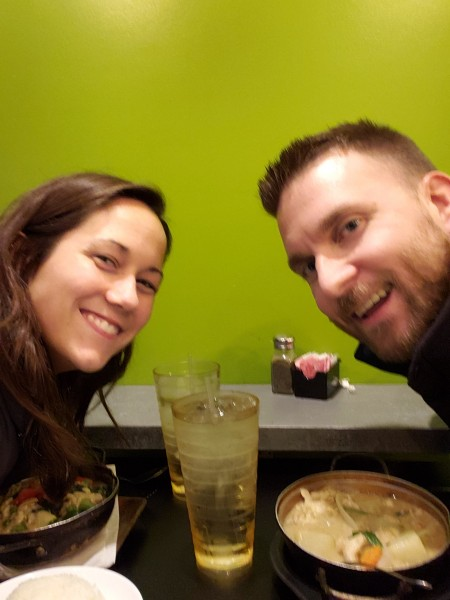 One of our favorite date night places - Pad Thai.