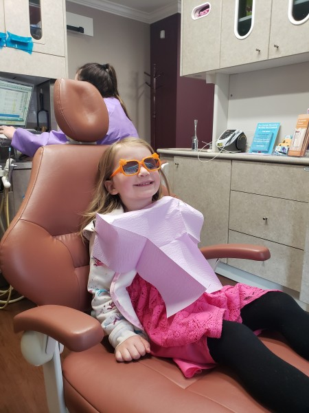 Dentist! Julianne is a pro.