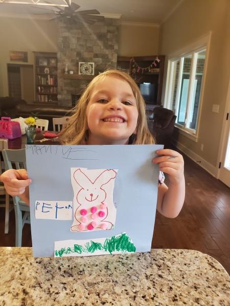 Easter art.