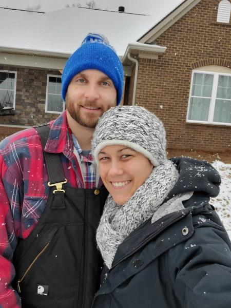 Snow selfie.
