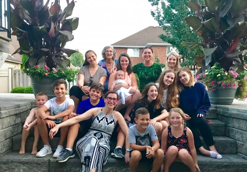 Family gathering Fall 2019