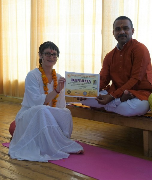 I traveled to India to become a Registered Yoga Teacher in 2015.