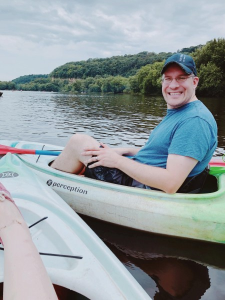Kayaking in the summer - we love kayaking and canoeing!
