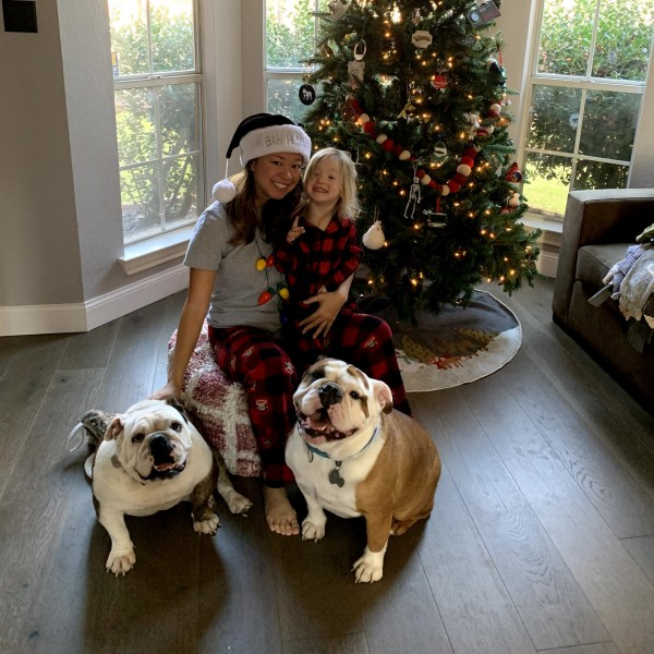 Christmas with the babies