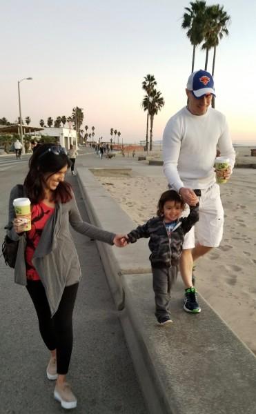 Fun on the boardwalk