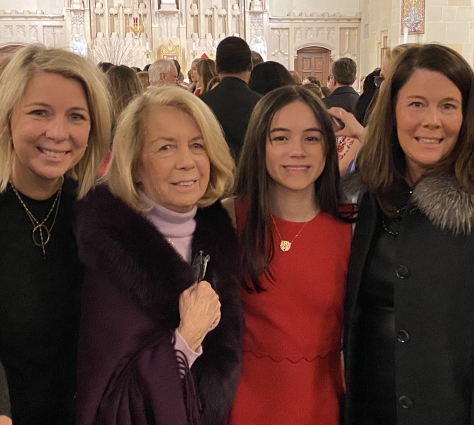 My niece Fiona's Confirmation. It was super special time as my sister was asked to  be  her sponsor. Congratulations Miss Fi!