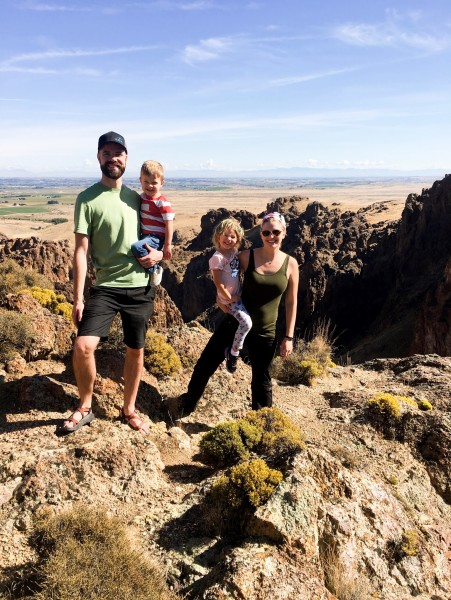 Hiking in Idaho Fall while visiting friends 2019