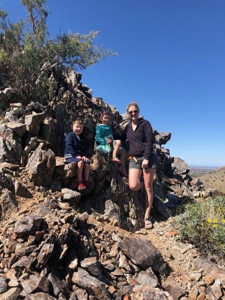 Hiking in AZ