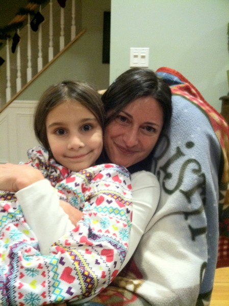 Tammy with her Goddaughter, Cessarina