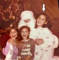 Tammy as a young child with her two sisters