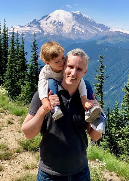 Visting Mt Rainier in Washington State