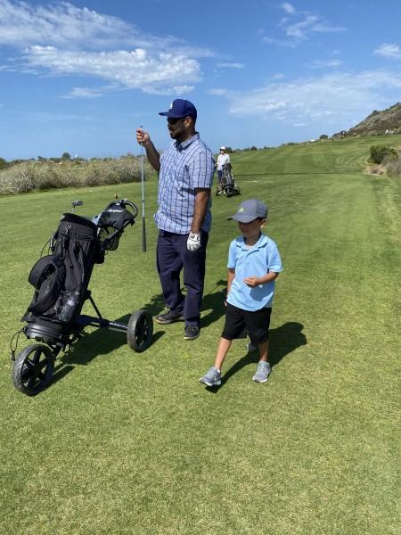 Paulo & Nico play golf