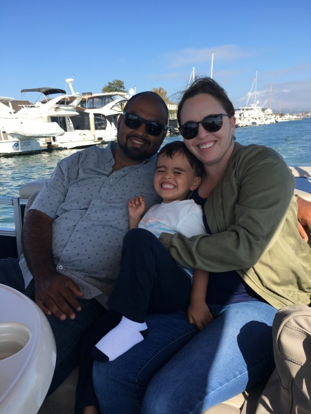 Taking a boat tour in Newport Beach