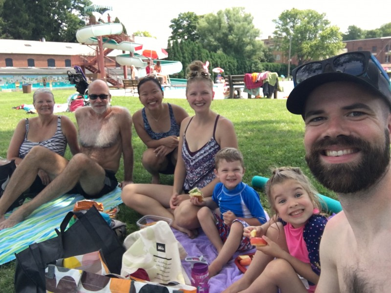 Family Pool Day!