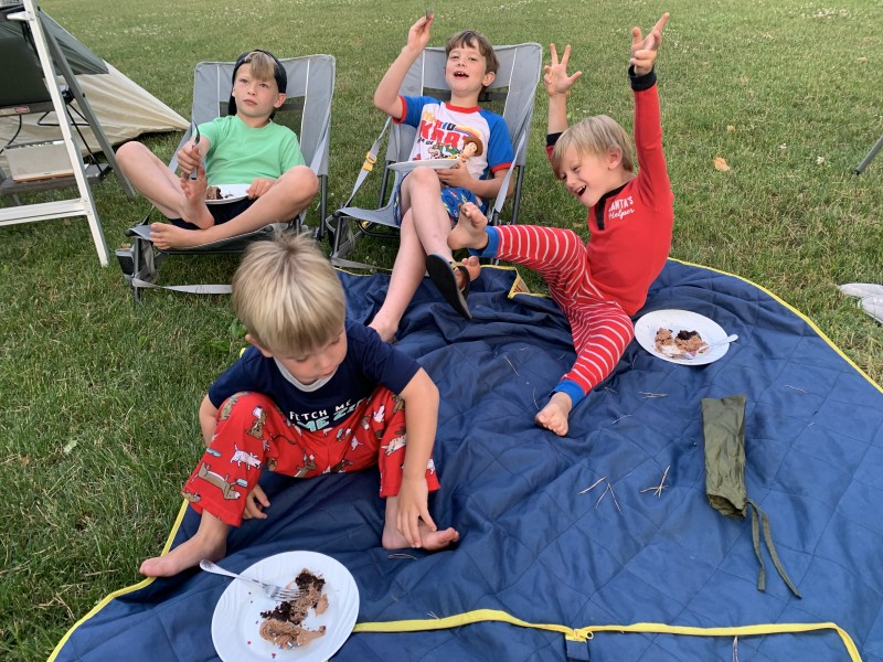 Outdoor Movie Fun