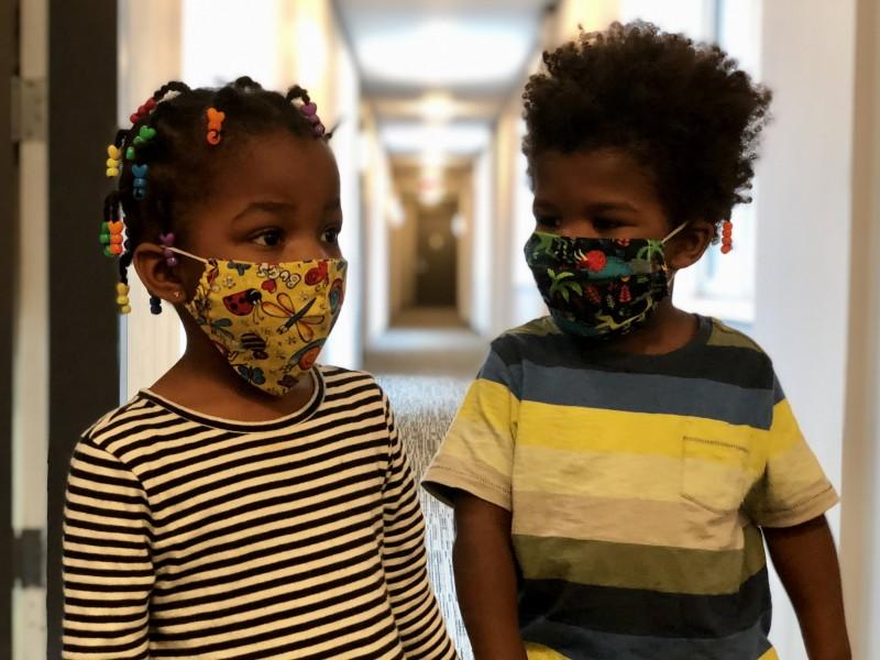 Training the use of masks
