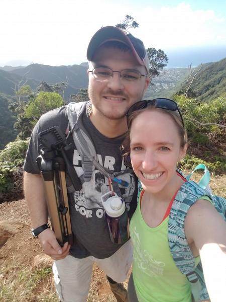 Hiking the Wiliwilinui Ridge Trail in Hawaii