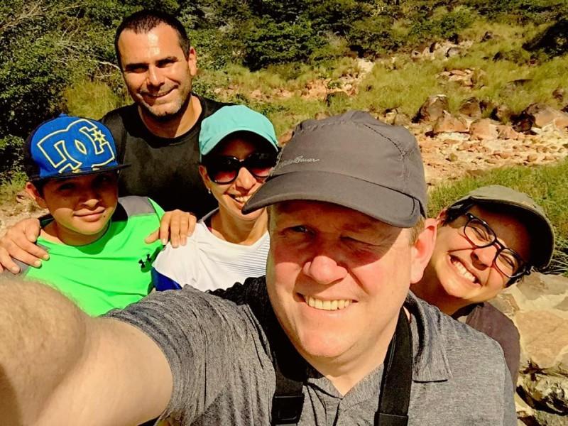 Rincon de la Vieja, Costa Rica, with dear friends Pablo, Nuria and Andres