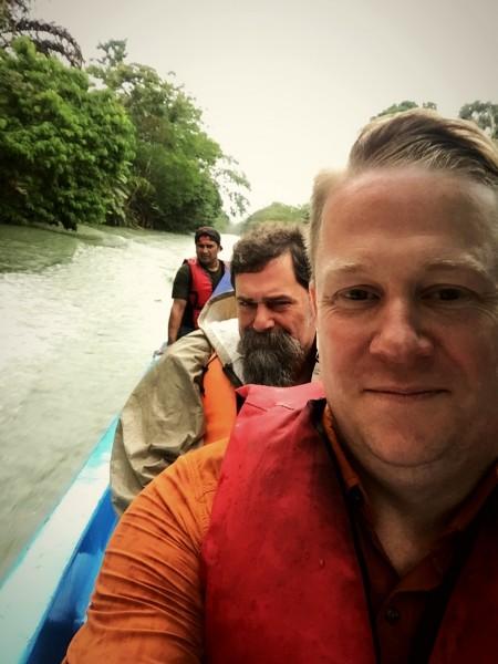 Costa Rica, visiting a research site