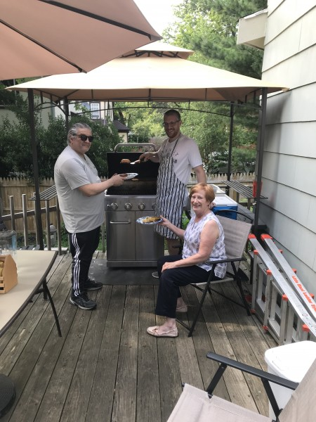 Cookout with Greg's Parents