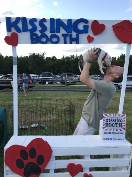 Greg at Animal Shelter Fundraiser