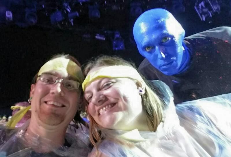 Las Vegas, NV - Blue Man Group Show.