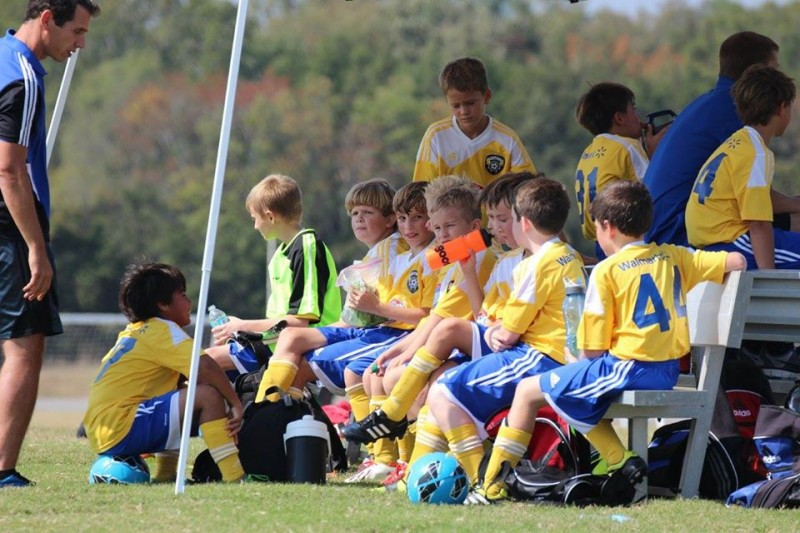 These are my favorite memories where Jesse is coaching one of our boys' teams on the sidelines