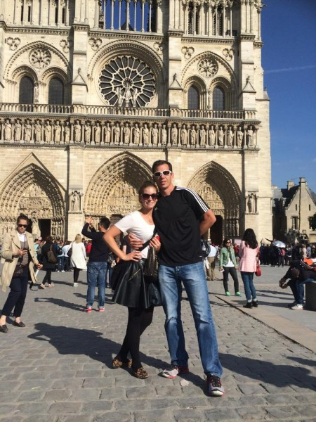For an anniversary gift, Jesse took Whitney to Paris