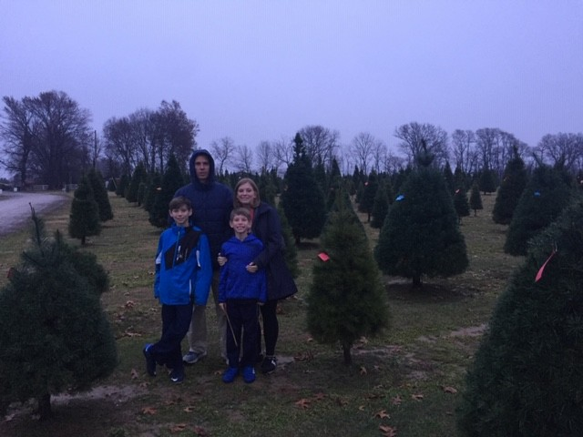 Christmas tree shopping is a MAJOR deal to us and tradition is to go as soon as is acceptable which is the day after Thanksgiving! :D