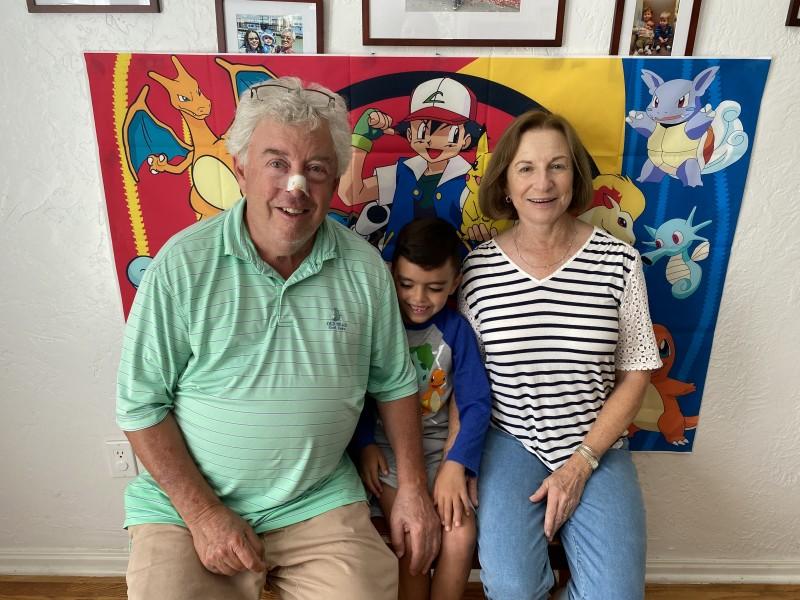 Grandma and Papa (Diana's parents)