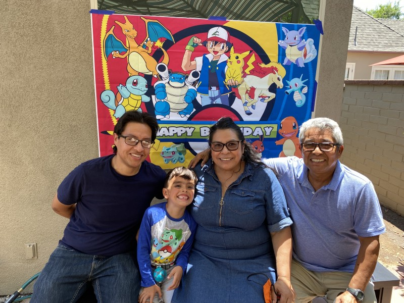 Grammy, Abuelo, and Tio (Paulo's parents and brother)