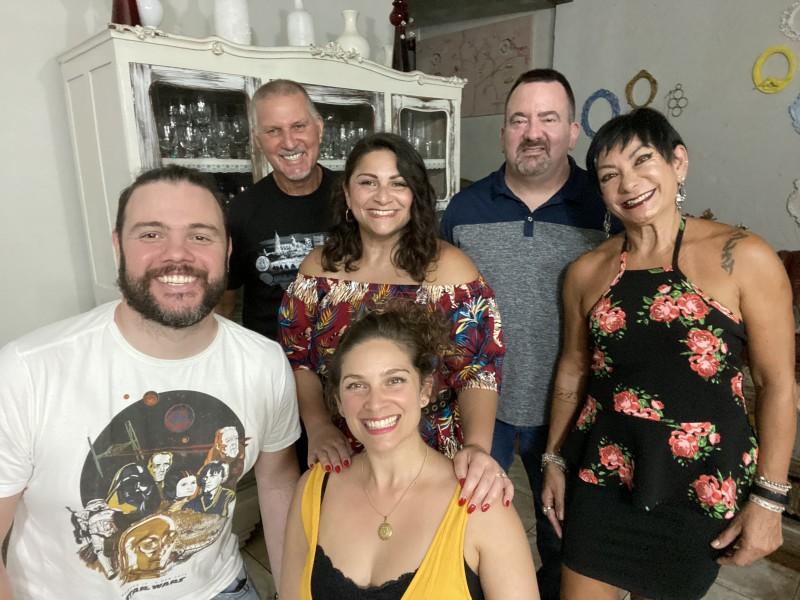 Family in Brazil