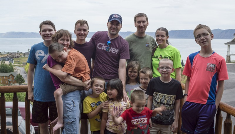 Nate's sister's family invited us up to spend some time with them at a cabin near Bear Lake. It was so fun!