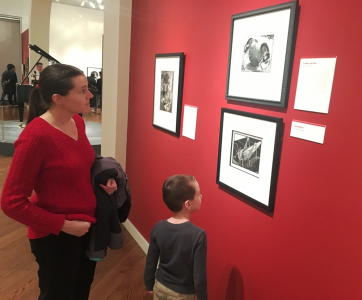 Austin really enjoyed seeing the artwork by M.C. Escher after he learned about perspective in art.