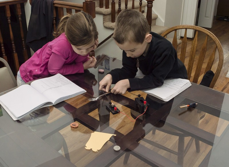 Experiments are fun! Here we are with what works as an insulator or conductor of electricity.