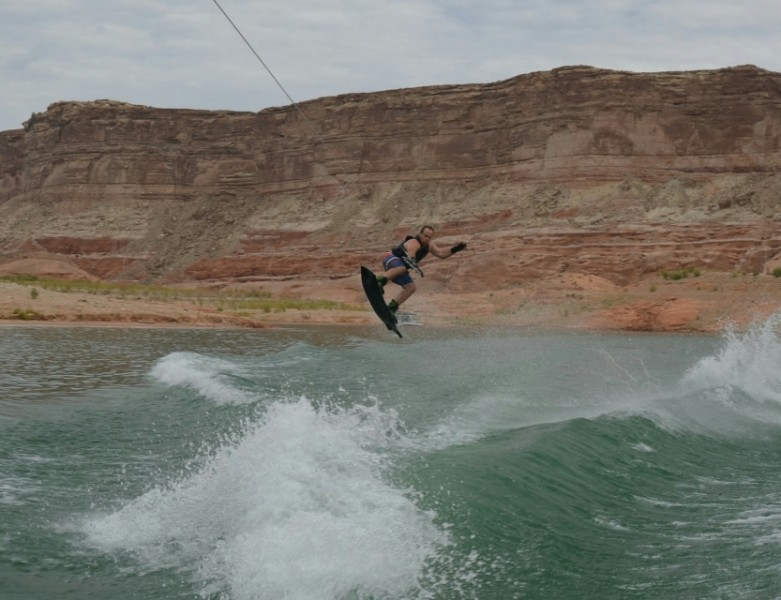 Scott grew up boating and loves to wake board.