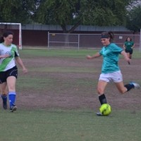 Katie grew up playing soccer and still loves to play and she especially loves teaching our kids.