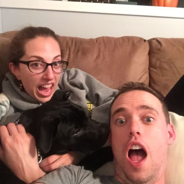 We make sure to find family time every day, even if it is just laying on the couch together and being silly :-P