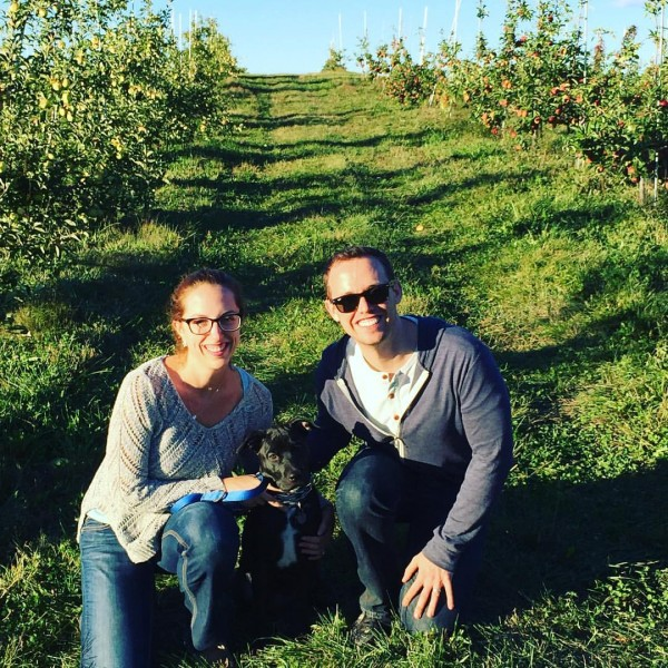 One of our favorite fall activities is Apple Picking! We sometimes even take Jack with us :)